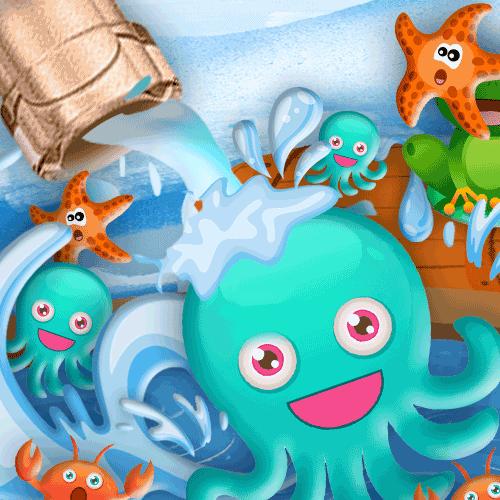 章魚愛泡澡 v1.0安卓版
